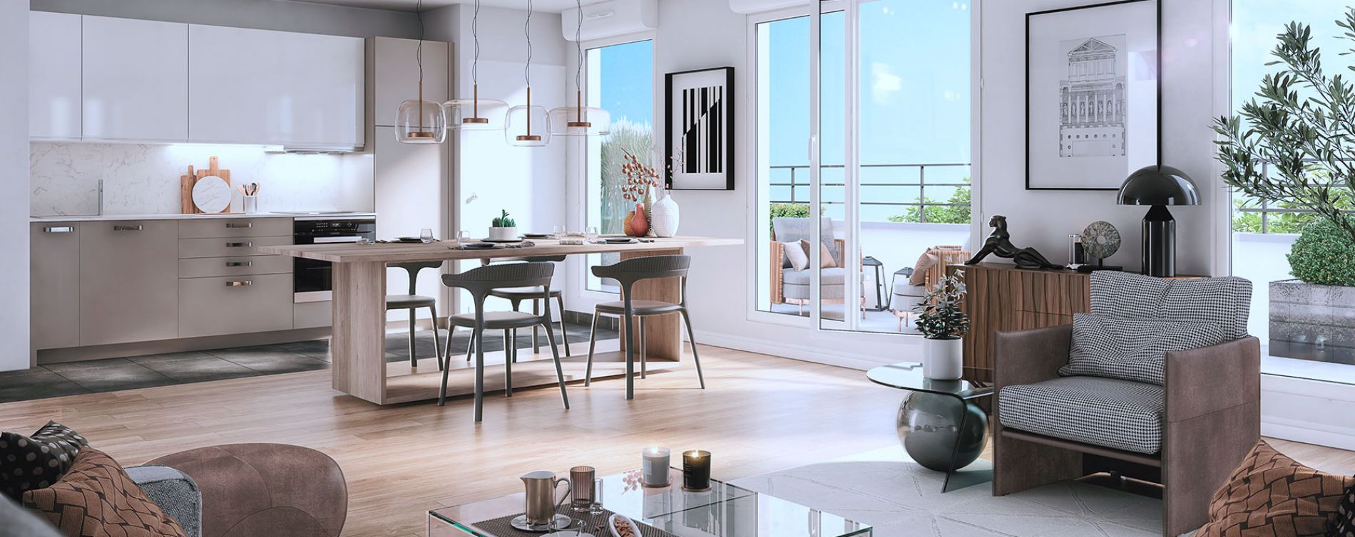 Bagnolet : programme immobilier neuve « Le Régent » en Loi Pinel (3)