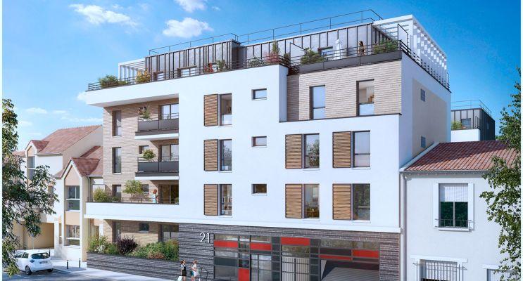 Bagnolet : programme immobilier neuf « Le Régent » en Loi Pinel