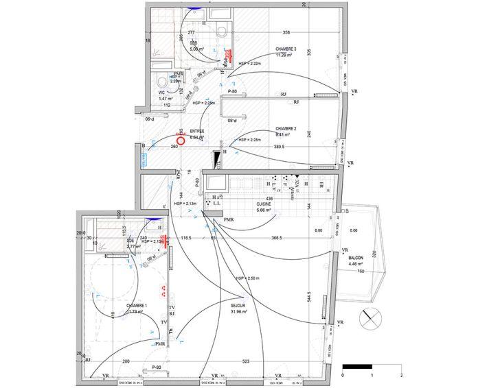 Plan T4 neuf à Bagnolet de