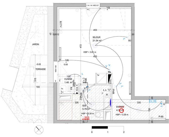 Plan T1 neuf à Bagnolet de