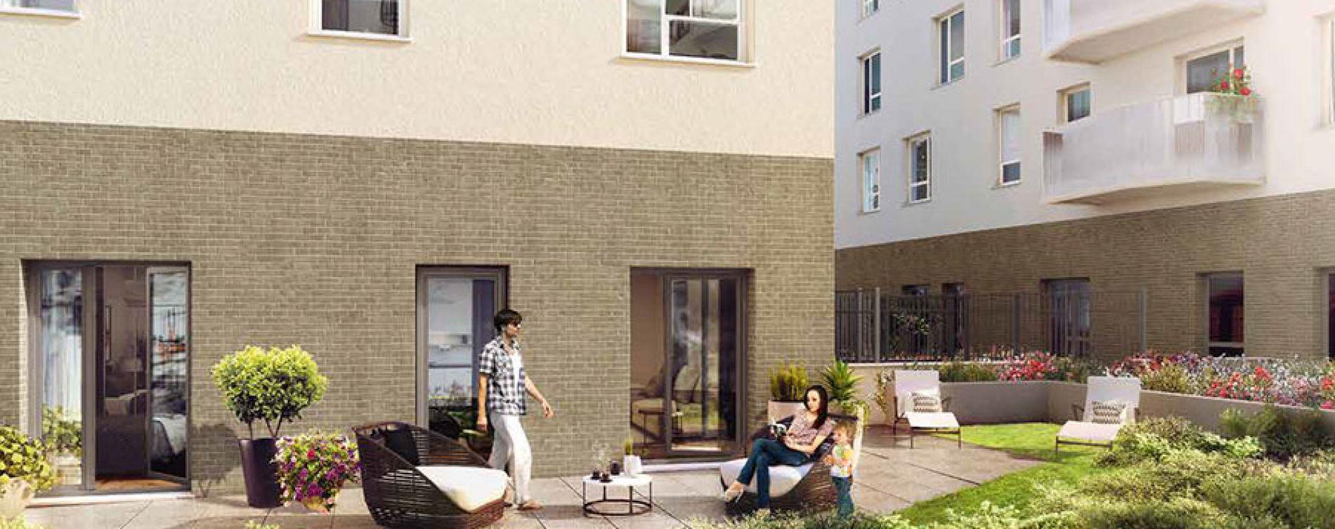 Bagnolet : programme immobilier neuve « Triptik »