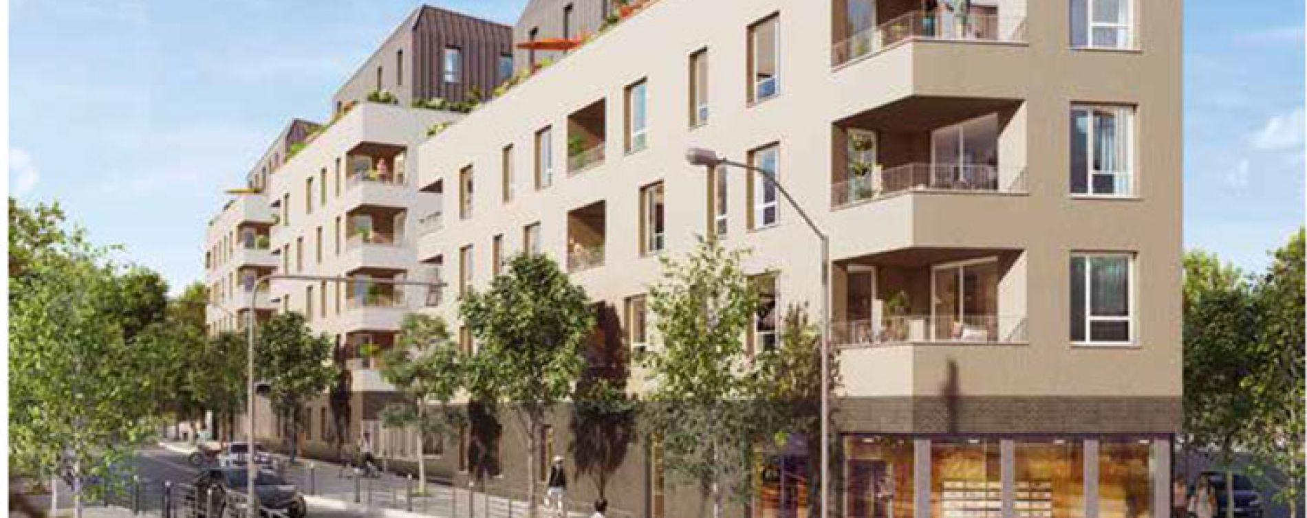 Bagnolet : programme immobilier neuve « Triptik » (2)