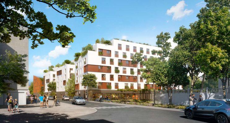 Photo n°2 du Résidence « Campus Lola » programme immobilier neuf à Bobigny