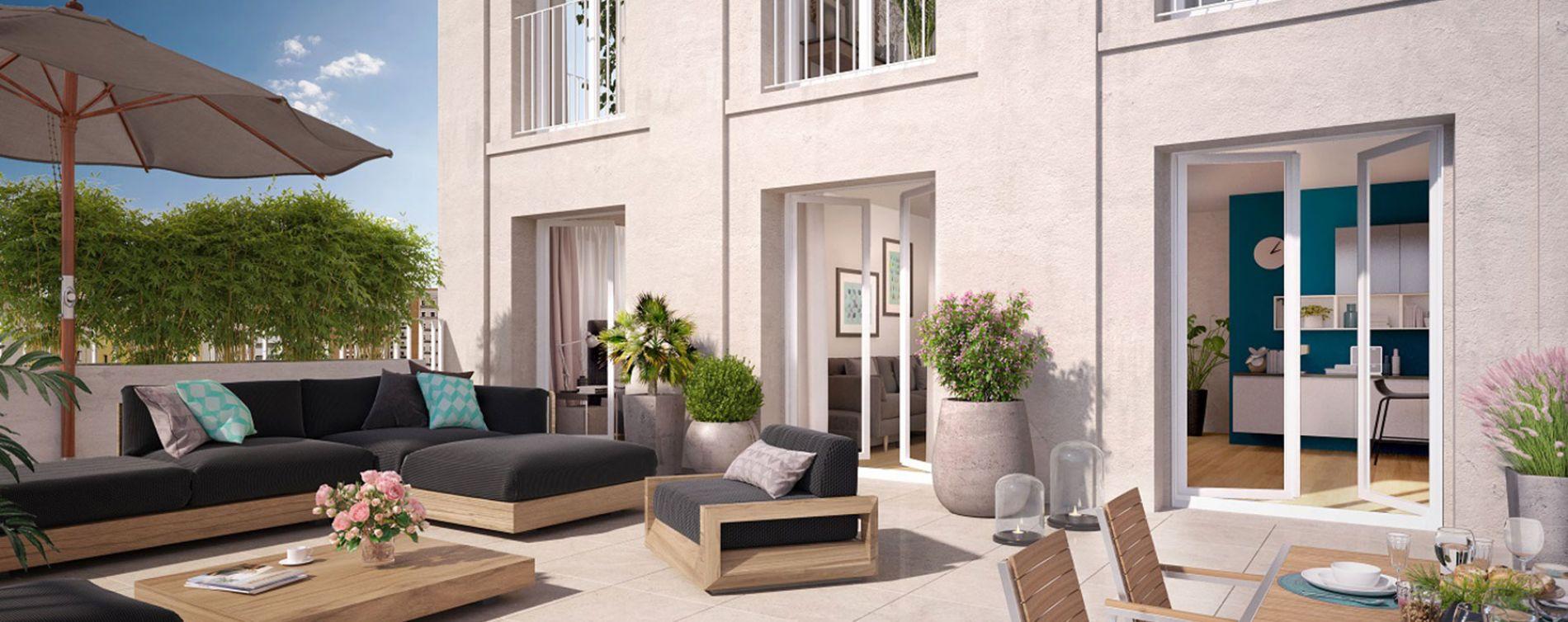 Bobigny : programme immobilier neuve « Coeur de ville - Hall Botanik & Métropolitain » en Loi Pinel (2)