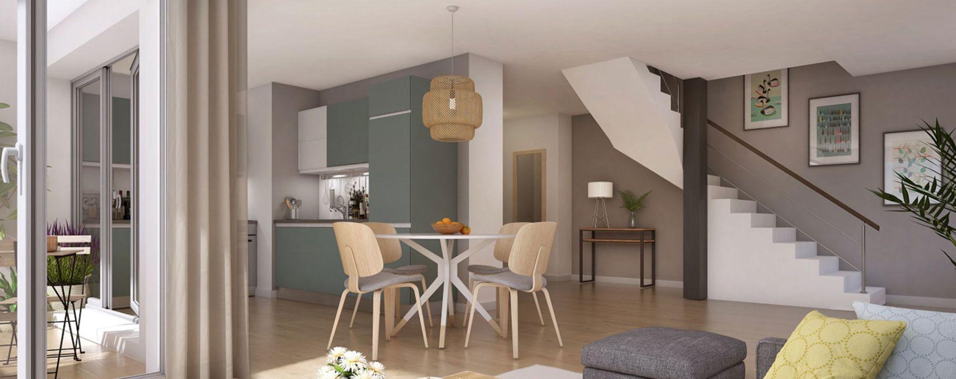 Bobigny : programme immobilier neuve « Coeur de ville - Hall Botanik & Métropolitain » en Loi Pinel (3)