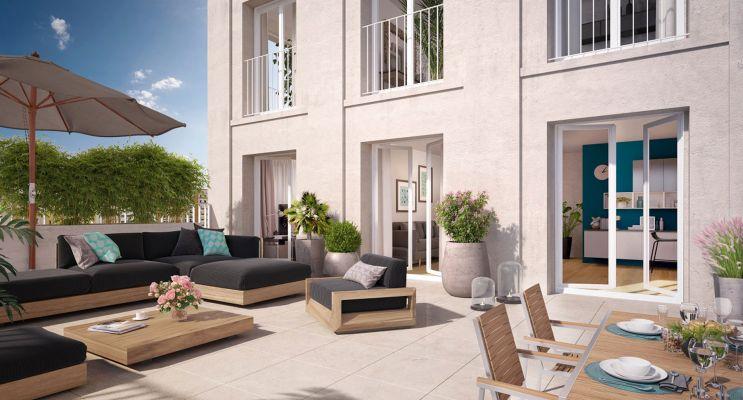 Photo du Résidence « Coeur de ville - Hall Plaza » programme immobilier neuf en Loi Pinel à Bobigny