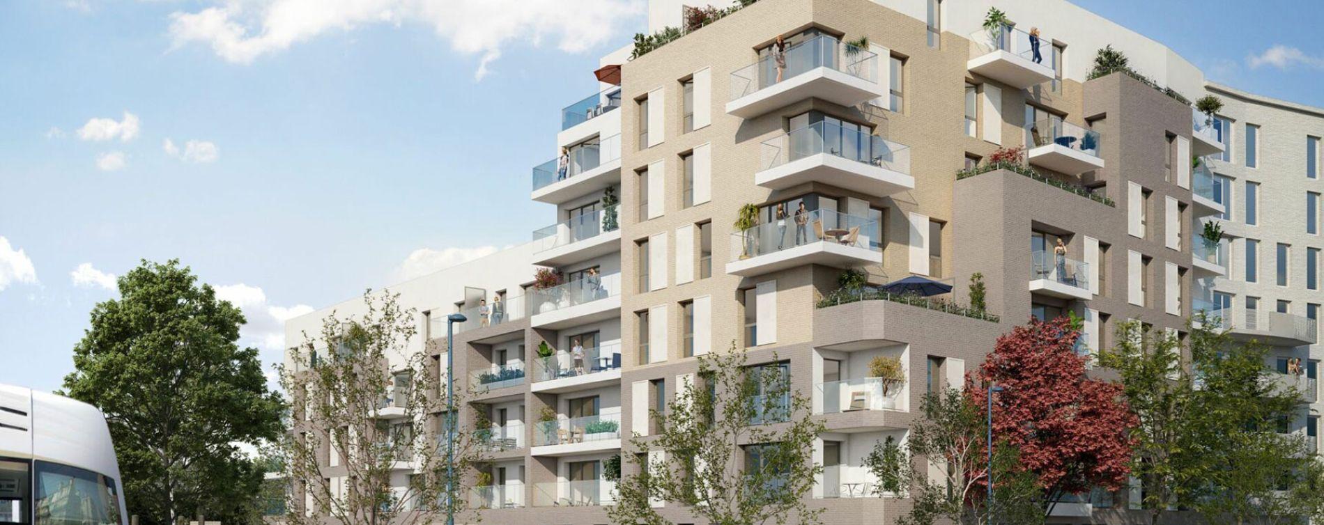 Bobigny : programme immobilier neuve « Programme immobilier n°218860 » en Loi Pinel