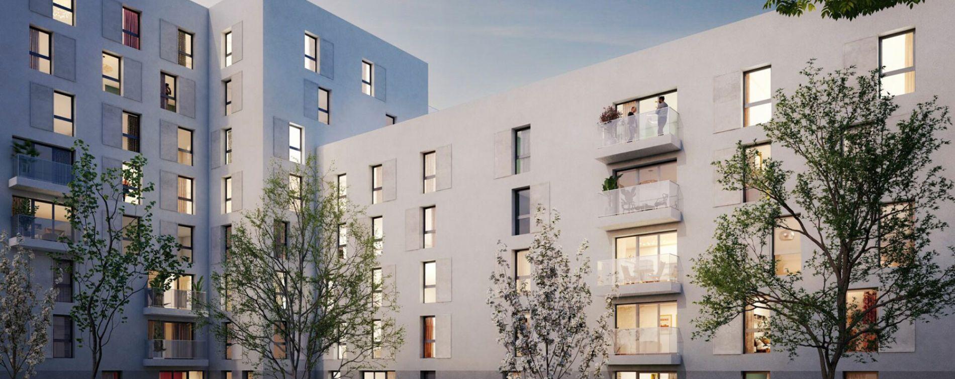Bobigny : programme immobilier neuve « Programme immobilier n°218860 » en Loi Pinel (2)