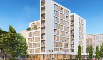 Photo du Résidence « Le Twins » programme immobilier neuf à Bobigny