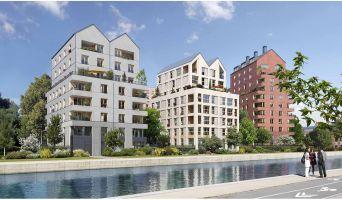 Bobigny programme immobilier neuve « Les Reflets de l'Ourcq » en Loi Pinel