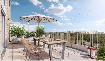 Bobigny programme immobilier neuve « Paris Canal - 165 Rue de Paris »  (4)