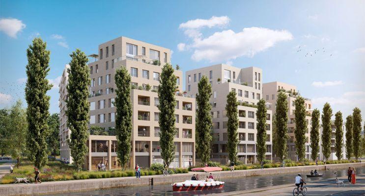 Photo du Résidence « Paris Canal - 165 Rue de Paris » programme immobilier neuf en Loi Pinel à Bobigny