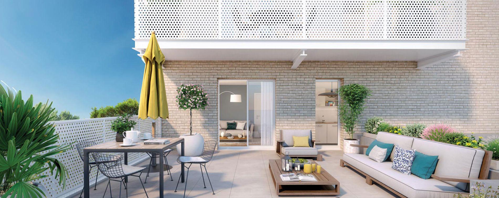 Bondy programme immobilier neuve « Canal Horizon »  (3)