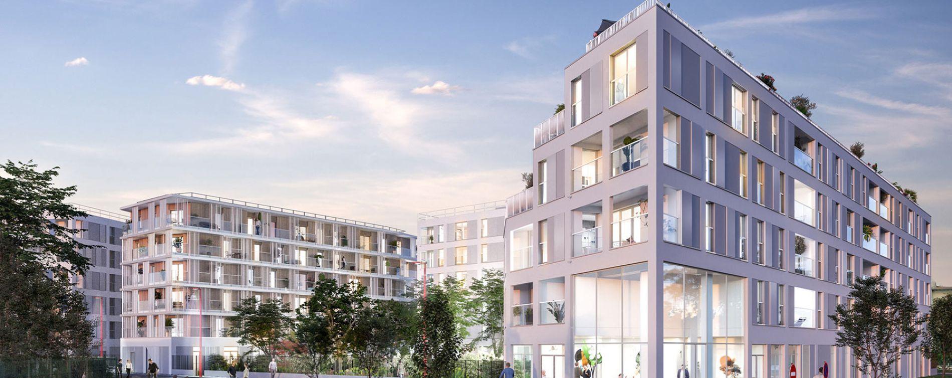 Bondy : programme immobilier neuve « Fair Play » en Loi Pinel