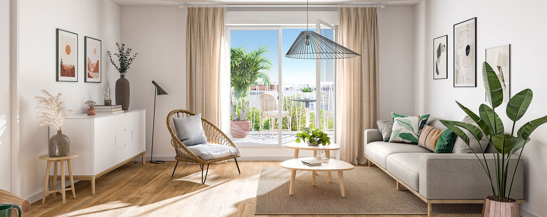 Bondy : programme immobilier neuve « Fair Play » en Loi Pinel (3)