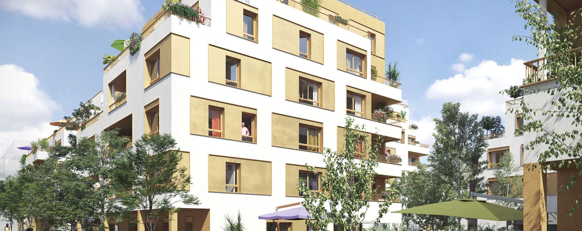 Bondy : programme immobilier neuve « Les Terrasses du Canal » en Loi Pinel (2)