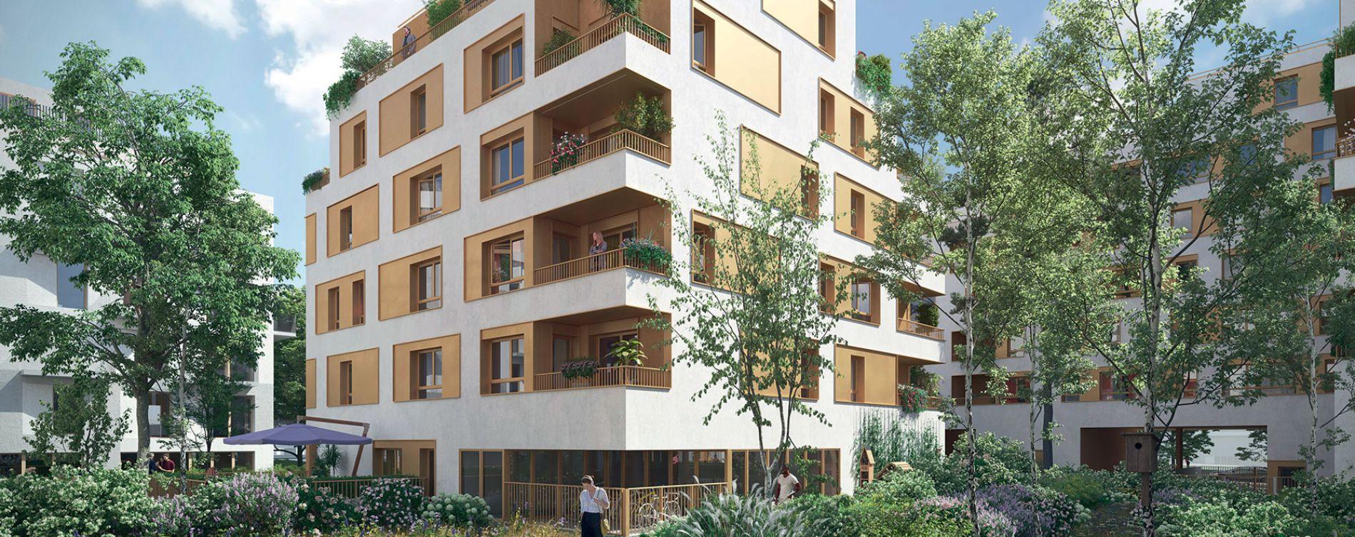 Bondy : programme immobilier neuve « Les Terrasses du Canal » en Loi Pinel (3)