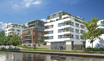 Bondy programme immobilier neuve « Vue Canal »