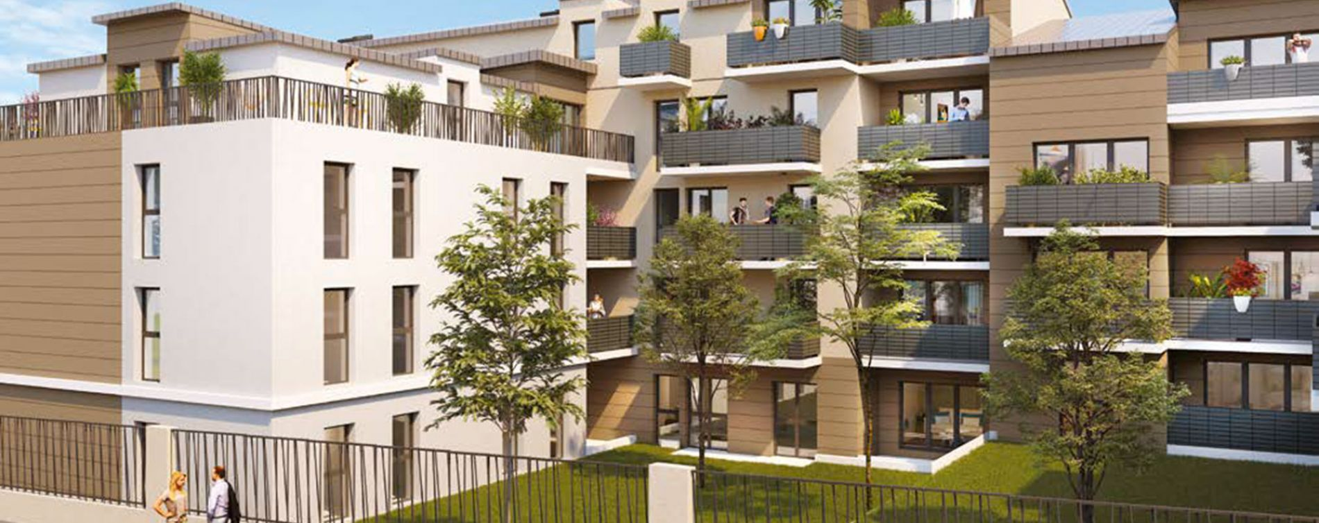Résidence Confidence à Clichy-sous-Bois