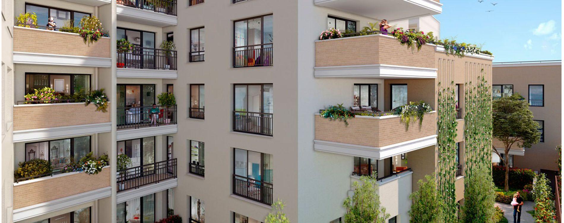Drancy : programme immobilier neuve « Arboria » (2)