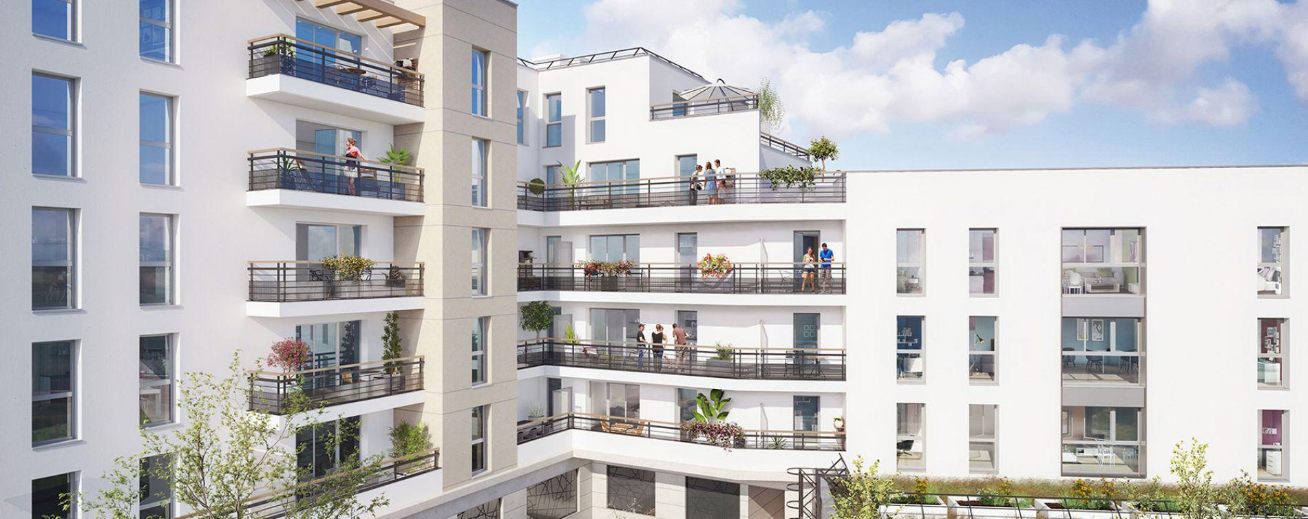 Drancy : programme immobilier neuve « Elégancia » en Loi Pinel (2)