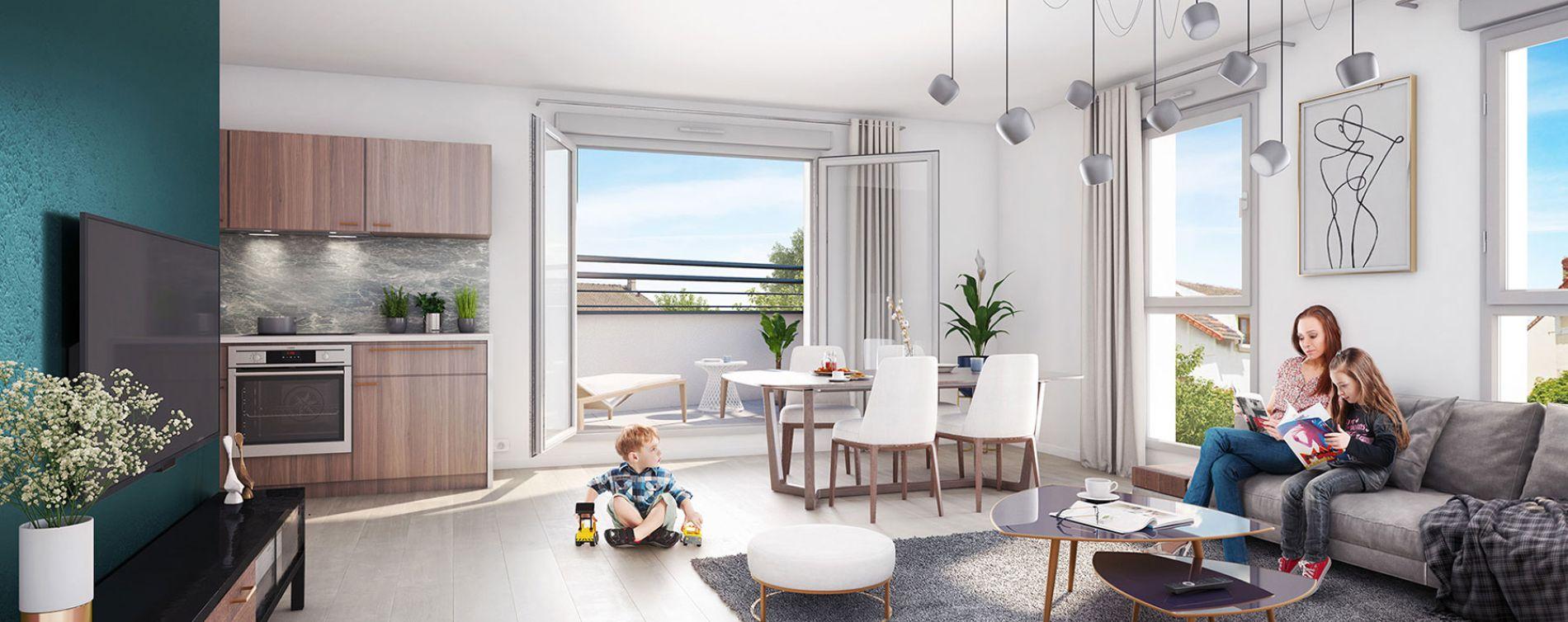 Drancy : programme immobilier neuve « Elégancia » en Loi Pinel (3)