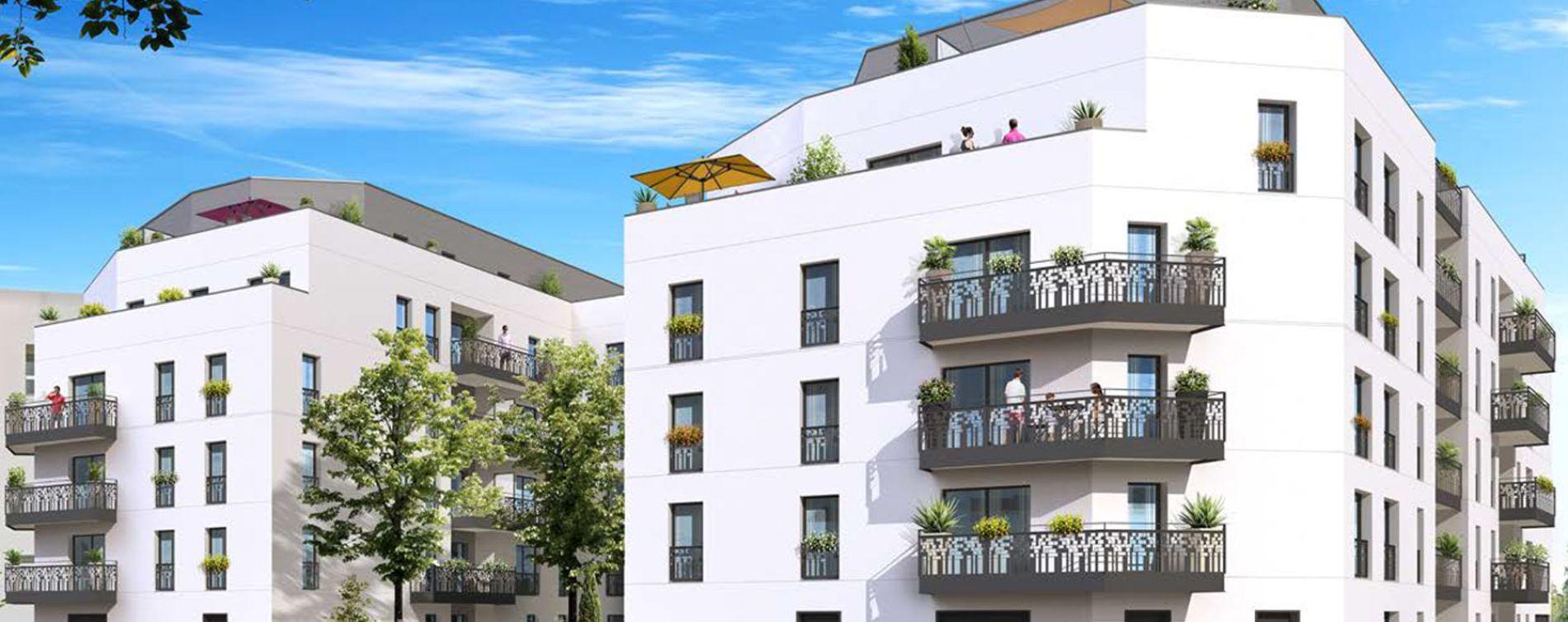 Drancy : programme immobilier neuve « Villa en Scène » (2)
