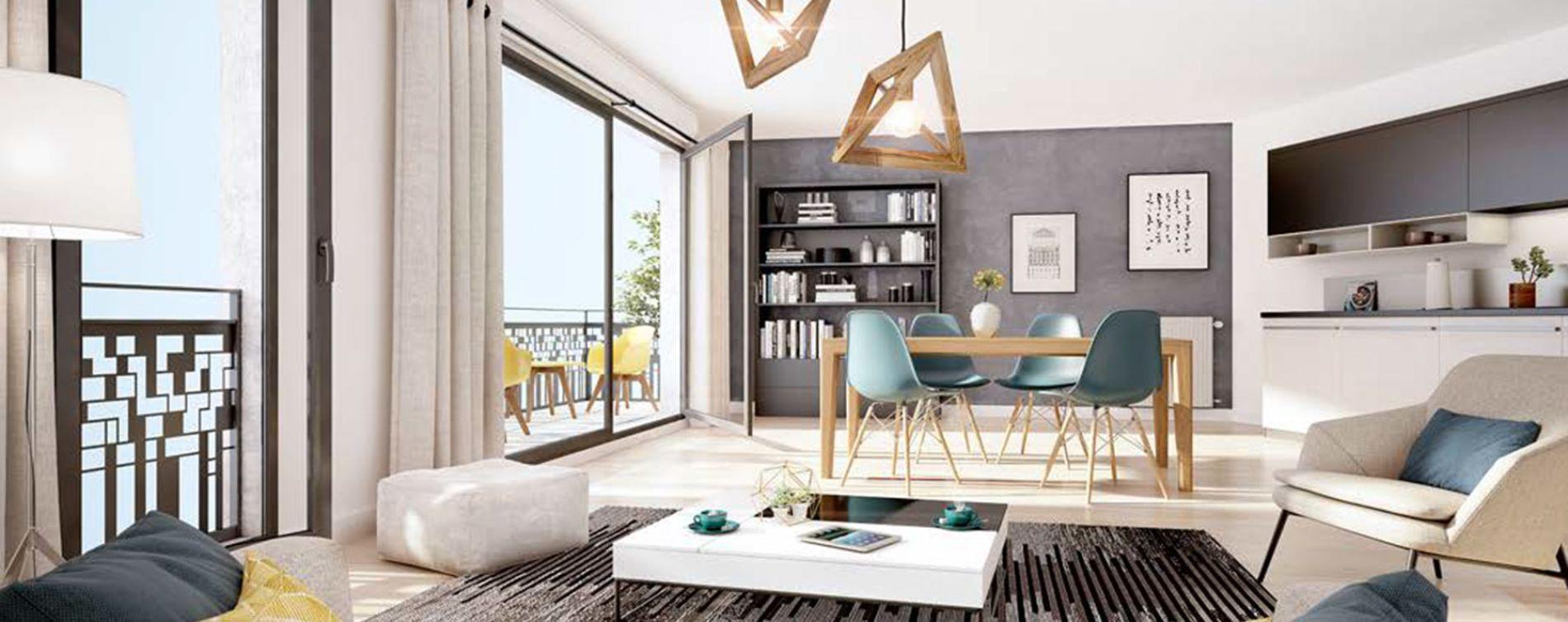 Drancy : programme immobilier neuve « Villa en Scène » (3)
