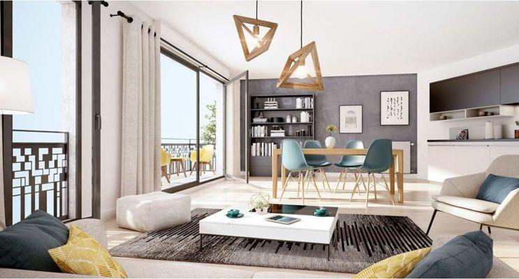 Résidence « Villa En Scène » programme immobilier neuf en Loi Pinel à Drancy n°3