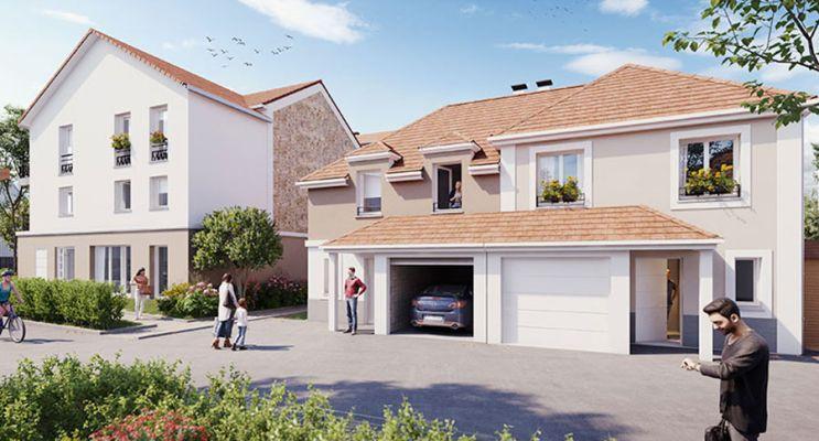Photo n°2 du Résidence « Les Exclusives » programme immobilier neuf en Loi Pinel à Dugny