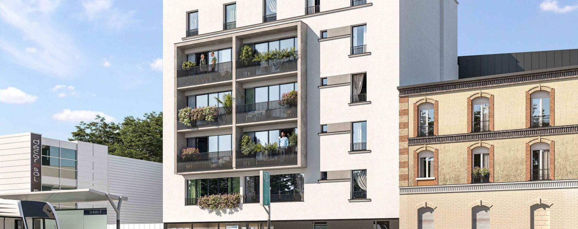 Épinay-sur-Seine : programme immobilier neuve « L'Atelier des Lumières » en Loi Pinel