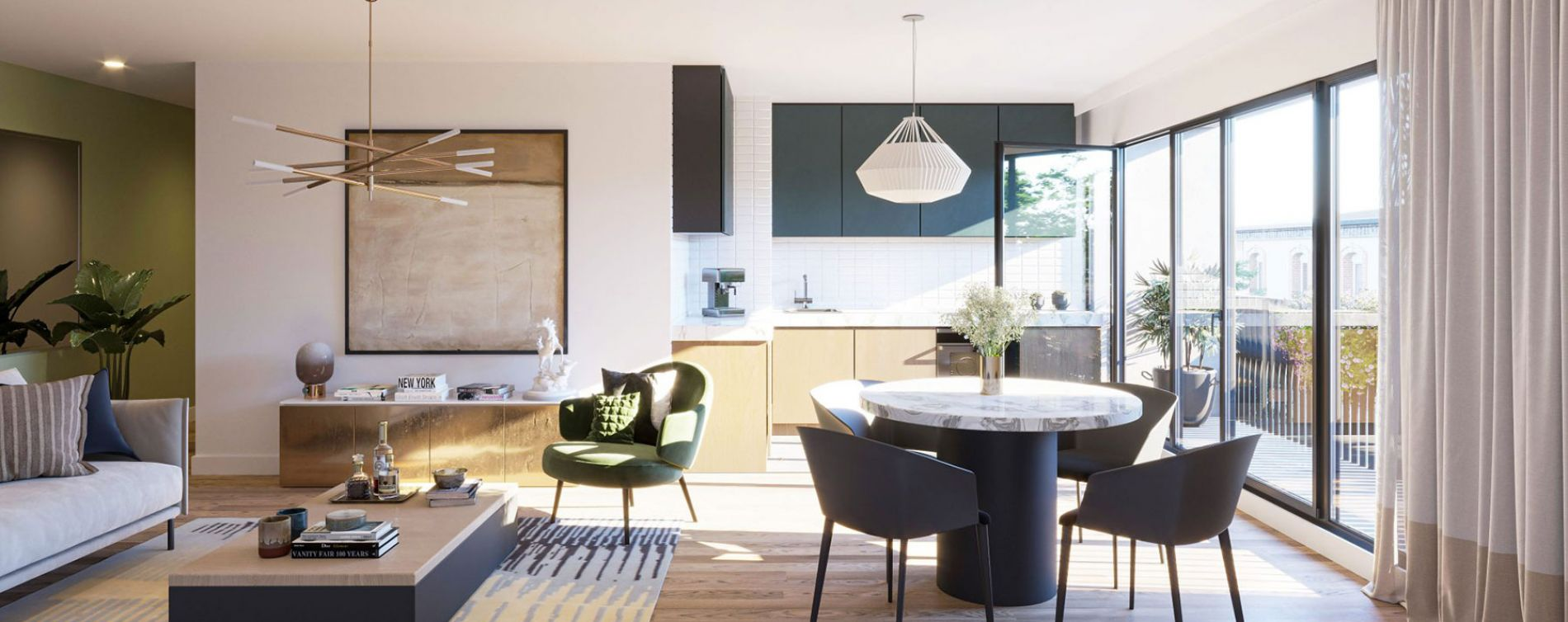 Épinay-sur-Seine : programme immobilier neuve « L'Atelier des Lumières » en Loi Pinel (3)