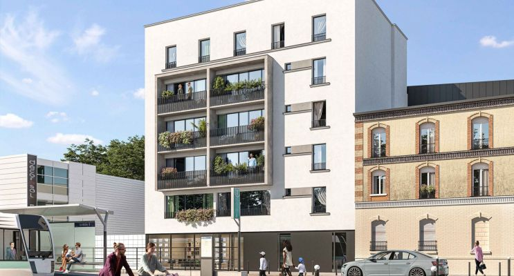 Photo du Résidence « L'Atelier des Lumières » programme immobilier neuf en Loi Pinel à Épinay-sur-Seine