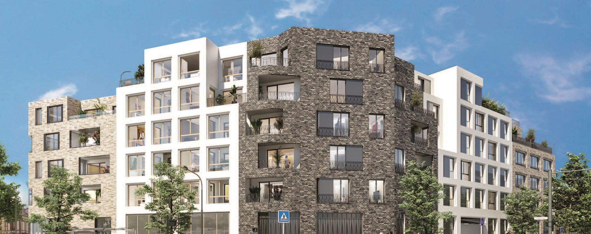 Épinay-sur-Seine : programme immobilier neuve « Le 109 Paris » en Loi Pinel