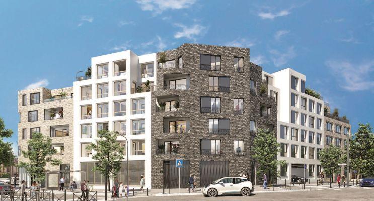 Épinay-sur-Seine : programme immobilier neuf « Le 109 Paris » en Loi Pinel