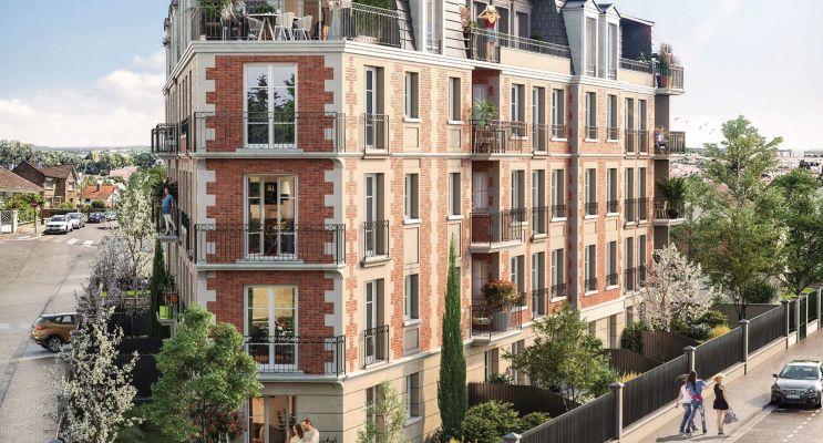 Photo du Résidence « Allure » programme immobilier neuf en Loi Pinel à Gagny