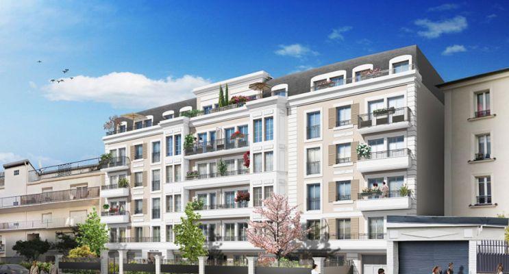 Résidence « Andréa » programme immobilier neuf en Loi Pinel à Gagny n°1