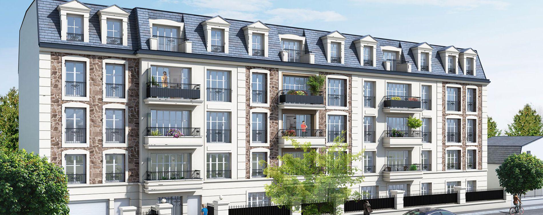 Gagny : programme immobilier neuve « Carré Mansart »