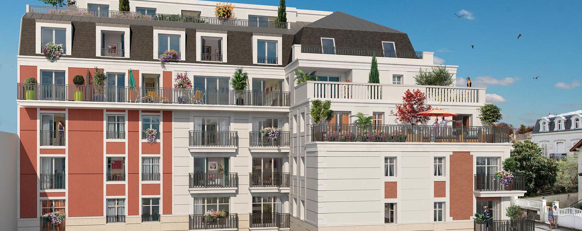 Gagny : programme immobilier neuve « Instants de ville » en Loi Pinel (2)