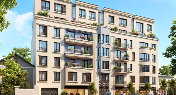 Photo du Résidence « Mozaïk » programme immobilier neuf en Loi Pinel à Gagny