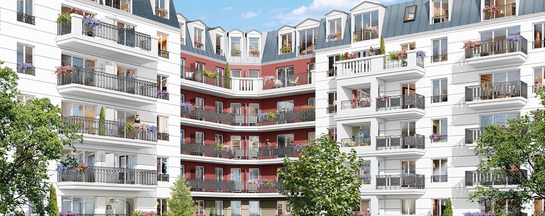 Gagny : programme immobilier neuve « Parenthèse Citadine 1 »