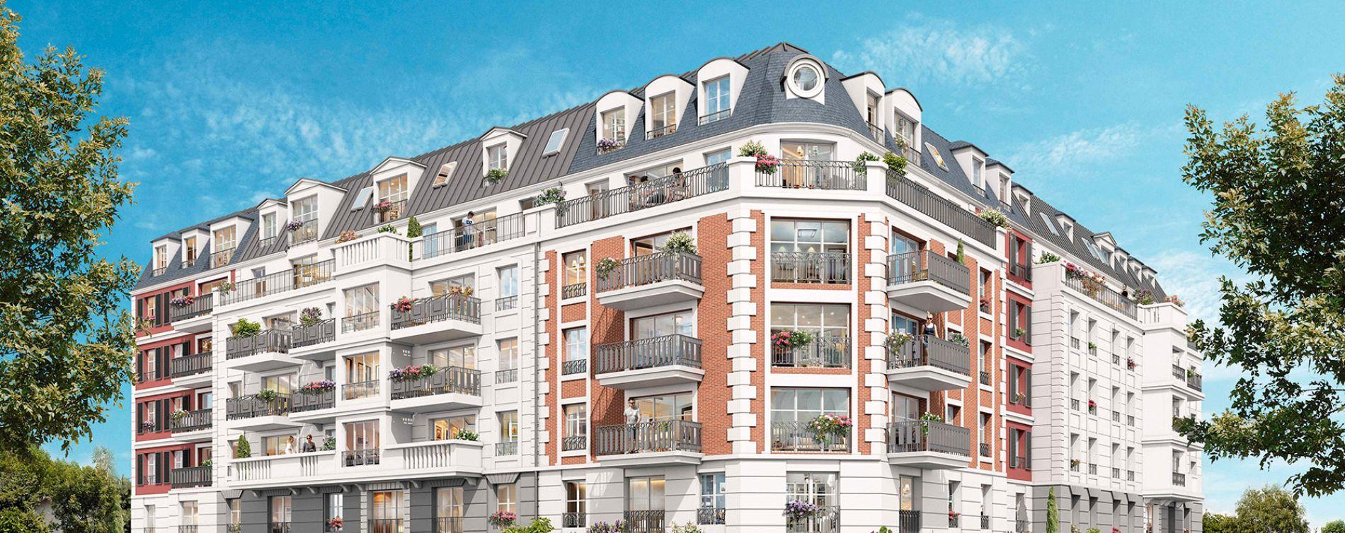 Gagny : programme immobilier neuve « Parenthèse Citadine 1 » (2)