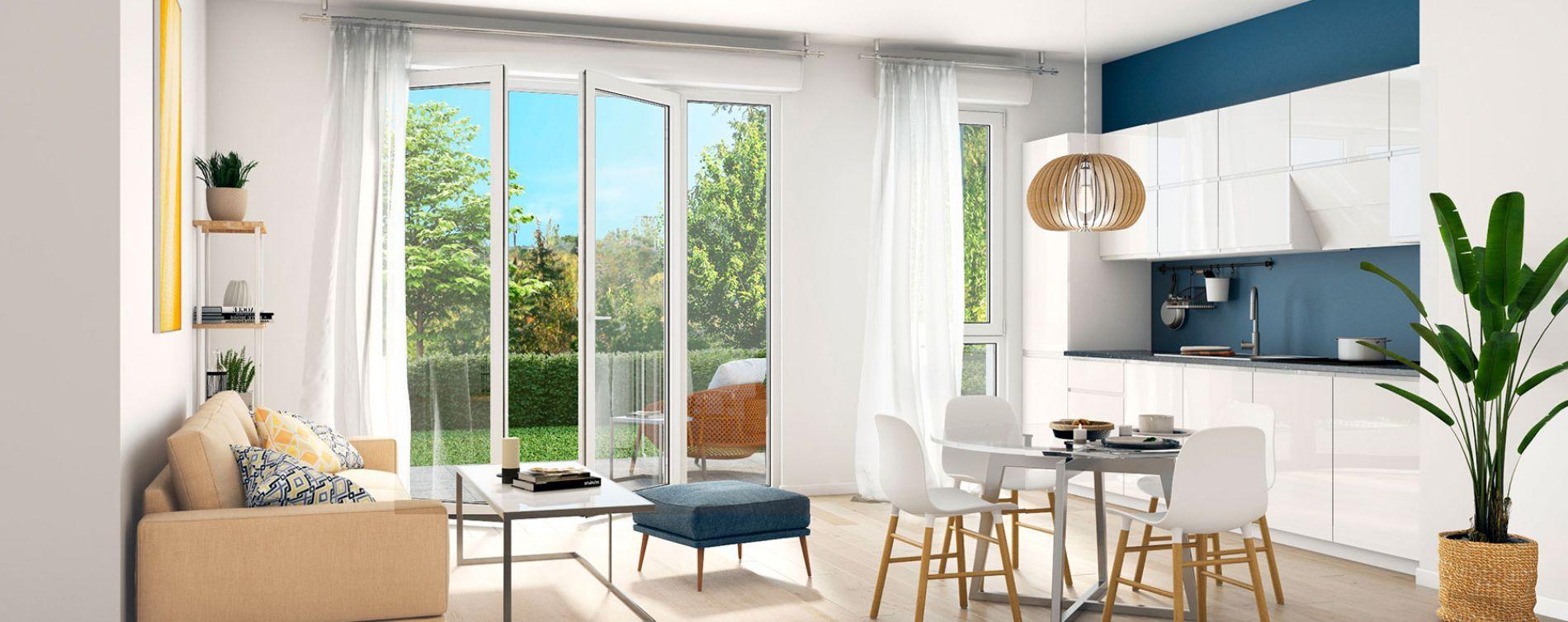 Gagny : programme immobilier neuve « Parenthèse Citadine 1 » (3)
