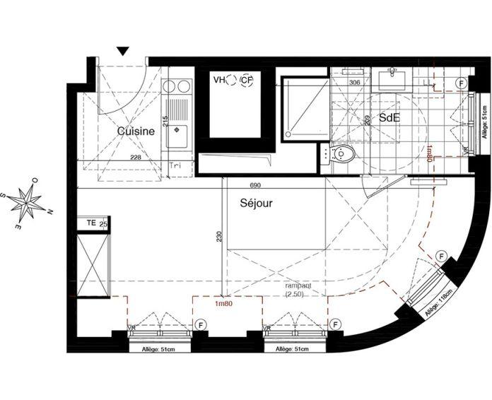 Plan Studio neuf à Gagny de