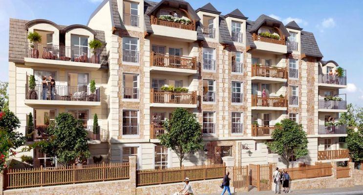 Gagny : programme immobilier neuf « Symphonie » en Loi Pinel