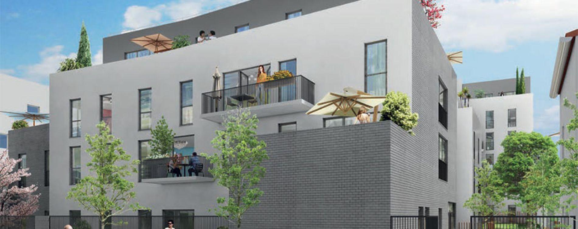 La Courneuve : programme immobilier neuve « Programme immobilier n°214239 » (2)
