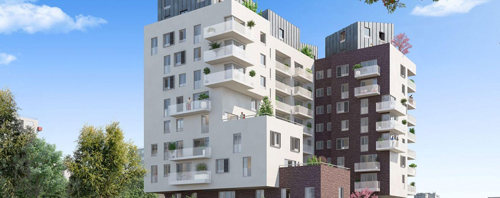 La Courneuve : programme immobilier neuve « Panorama »