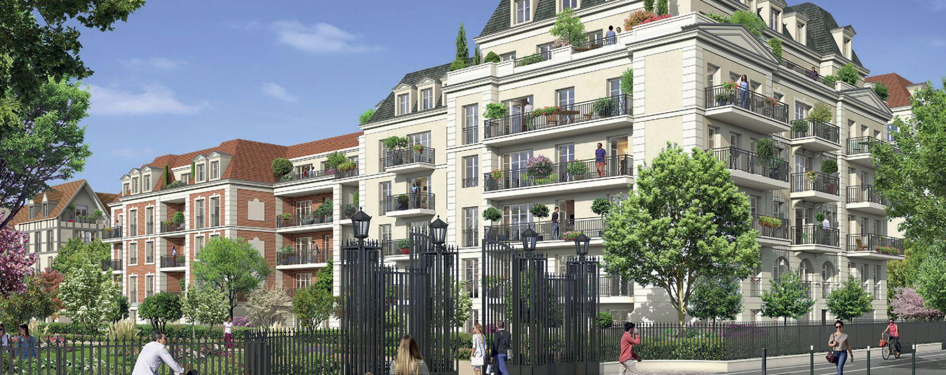Résidence Jardins des Orfèvres au Blanc-Mesnil