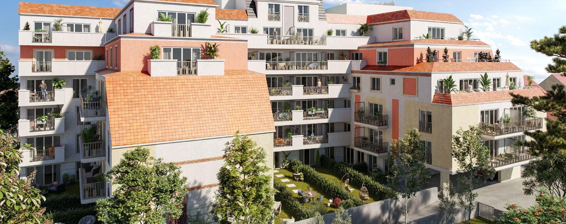 Le Blanc-Mesnil : programme immobilier neuve « Jean Bart » en Loi Pinel (3)