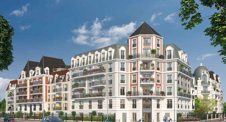 Photo n°1 du Résidence « Le Castelin » programme immobilier neuf en Loi Pinel à Le Blanc-Mesnil